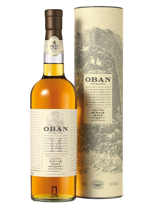Oban 14 year Single Malt Scotch Whiskey