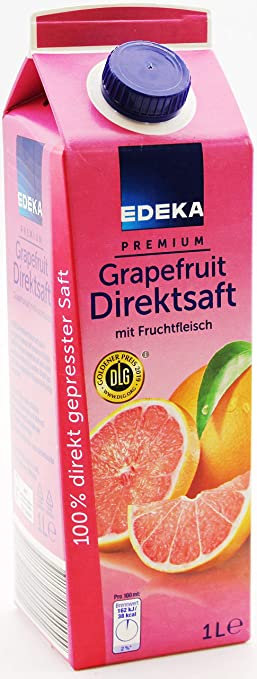 Premium Grapefruit Juice Edeka