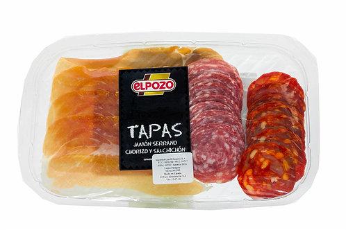 Elpozo Tapas Jamón Serrano Chorizo Y Salchichón