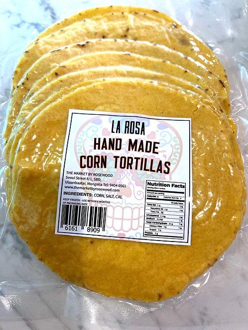 Handmade Corn Tortilla Flour
