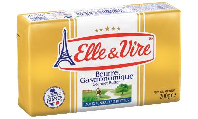 Elle & Vire Unsalted Gourmet Butter