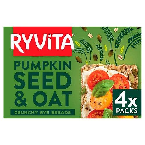 Pumpkin Seed and Oat Crunchy Rye Bread Ryvita