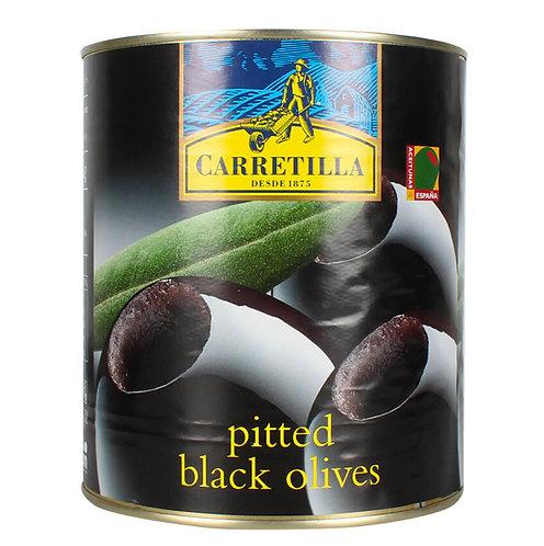 Carretilla Pitted Black Olives