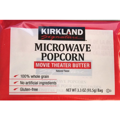 Kirkland Microwavable Movie Theater Butter Popcorn
