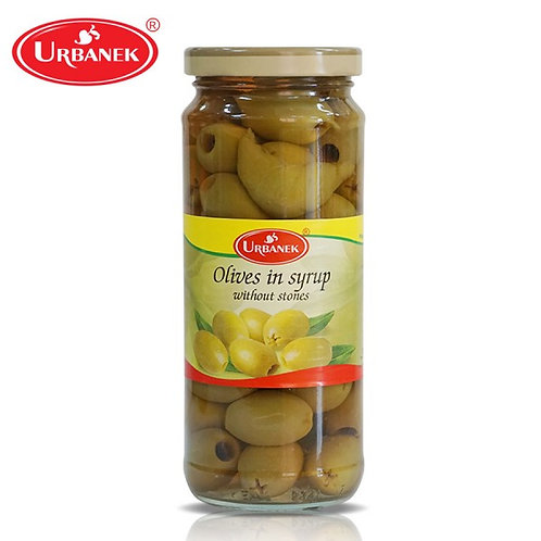 Urbanek Olives In Syrup Without Stones