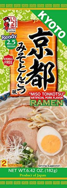 Itsuki Pork-Flavored Miso-Tonkotsu Ramen