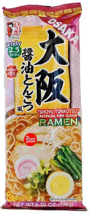 Itsuki Osaka Pork-Flavored Shoyu Tonkotsu Ramen