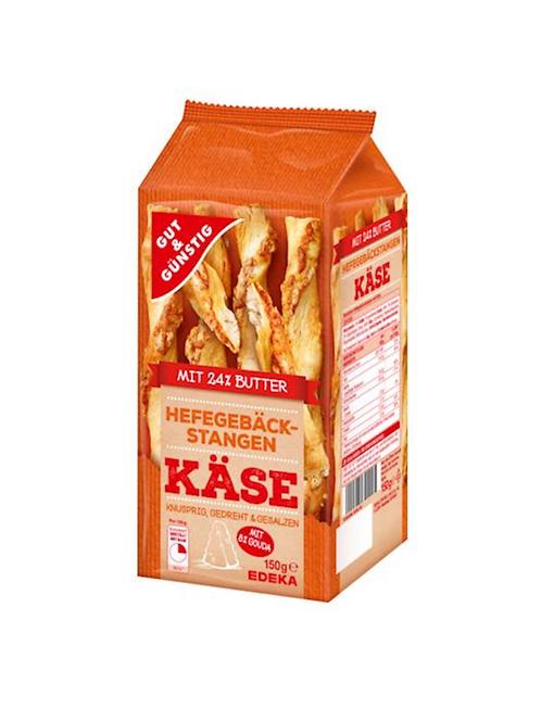Cheesy Baked Yeast Sticks