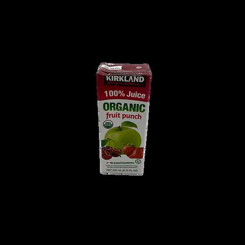 Kirkland Organic Fruit Punch Juice Box
