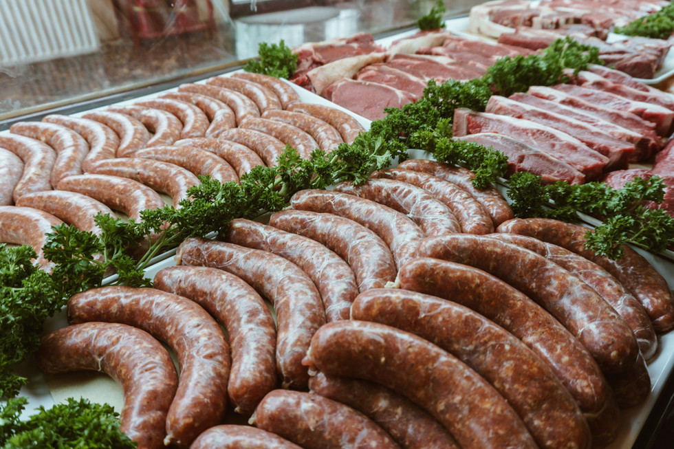 House-made sausages