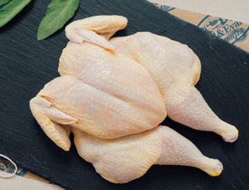 Spatchcock Chicken Raw