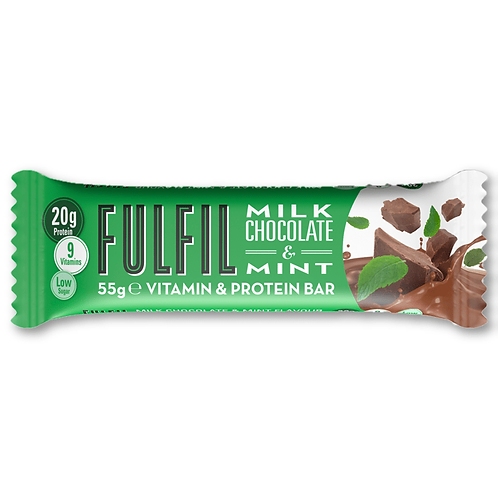 Fulfil Milk Chocolate & Mint Vitamin & Protein Bar