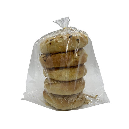 Pack Of 5 Frozen Bagels