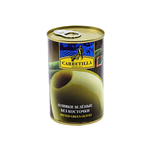 Carretilla Pitted Green Olives