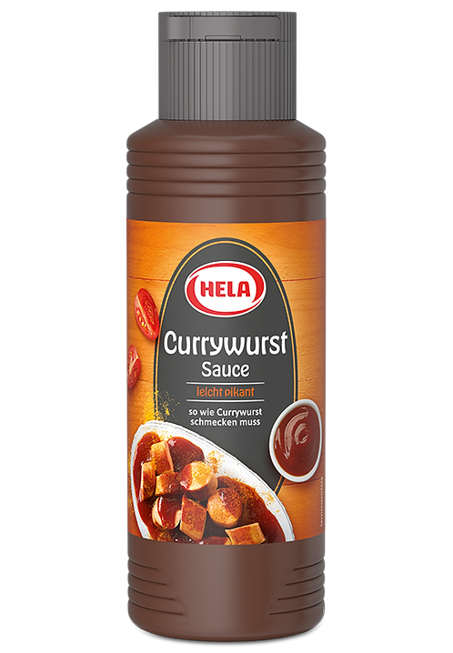 HELA Currywurst Sauce (slightly Spicy)