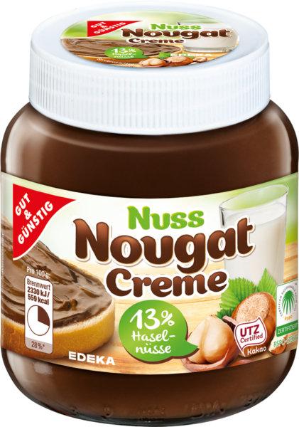 Chocolate Hazelnut Nougat Spread Gut & Günstig