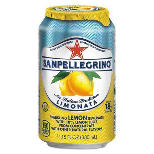 San Pellegrino Limonata (canned)