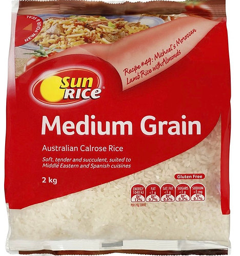 Australian Medium Grain Calrose Rice