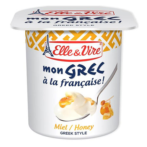 Elle & Vire Mon Grec Honey Yogurt