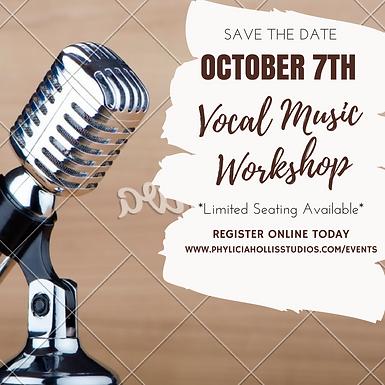 Vocal Music Workshop Session 1