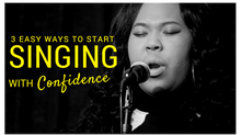 3 Easy Ways to Start Singing with Confidence