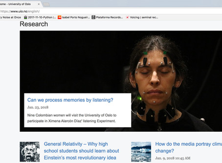 Featured at UiO Research News