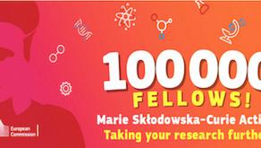 Awarded a Marie Curie Fellowship 2017-2019
