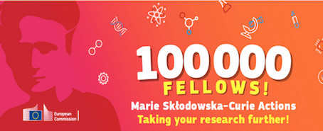 Awarded a Marie Curie Fellowship 2017-2019