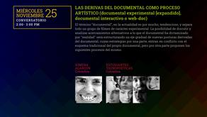 Simposio Latinoamericano de Arte Mediático, Nov 25, 2020