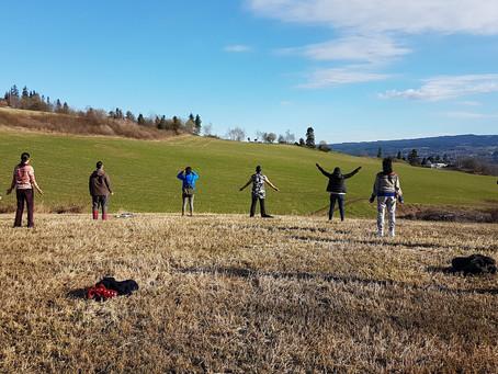 INTIMAL Fieldwork with Nine Colombian Migrant Women