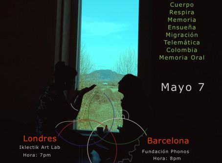 Long Distance Improvisation – May 7 save the date!!