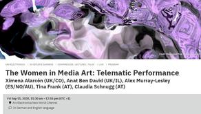 Women in Media Art: Telematic Performance - Ars Electronica. Kepler's Garden. Sept. 11, 2020