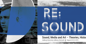 RE:Sound Conference, Aug 19-24, 2019