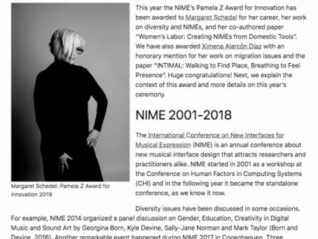 Pamela Z Award: Honorary Mention