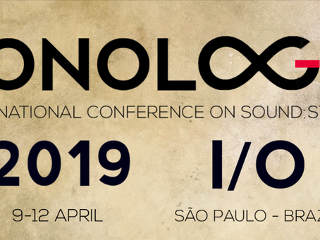 Sonologia – São Paulo, Keynote