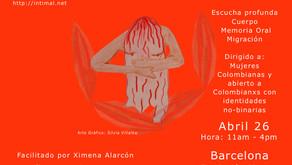 Taller INTIMAL en Barcelona – Abril 26