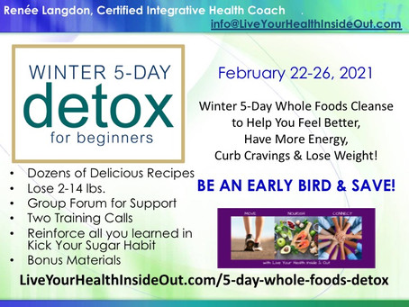 Join me for the Winter 5-Day Detox for Beginners!