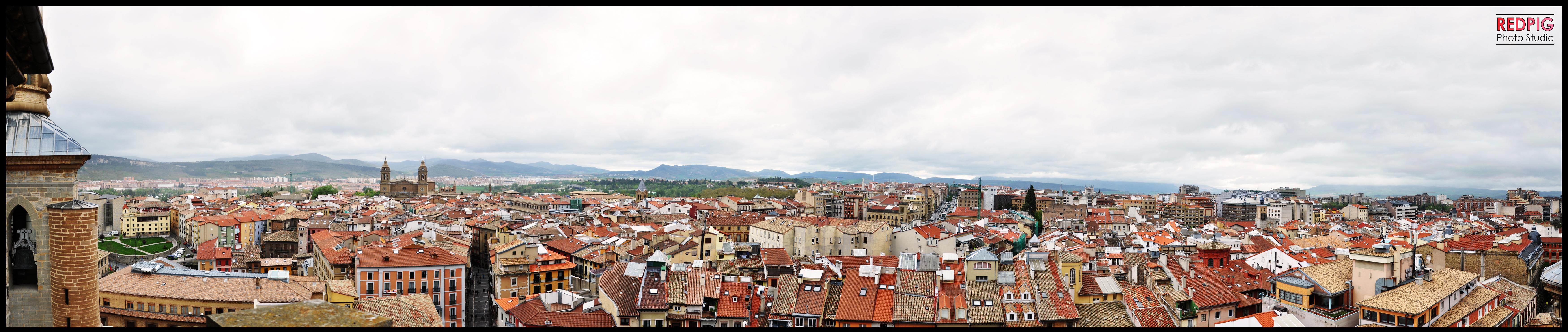 Skyline Pamplona