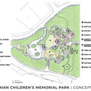 Kade Damian Healing Hearts Park Conceptual Plan