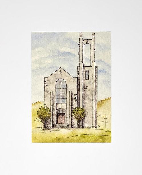 S.U. Chapel - Print