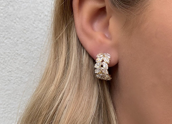 Esther 18K Gold Plated Earrings