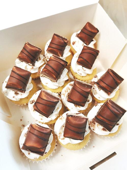 Box  Minis cupcakes ( 12 pièces )