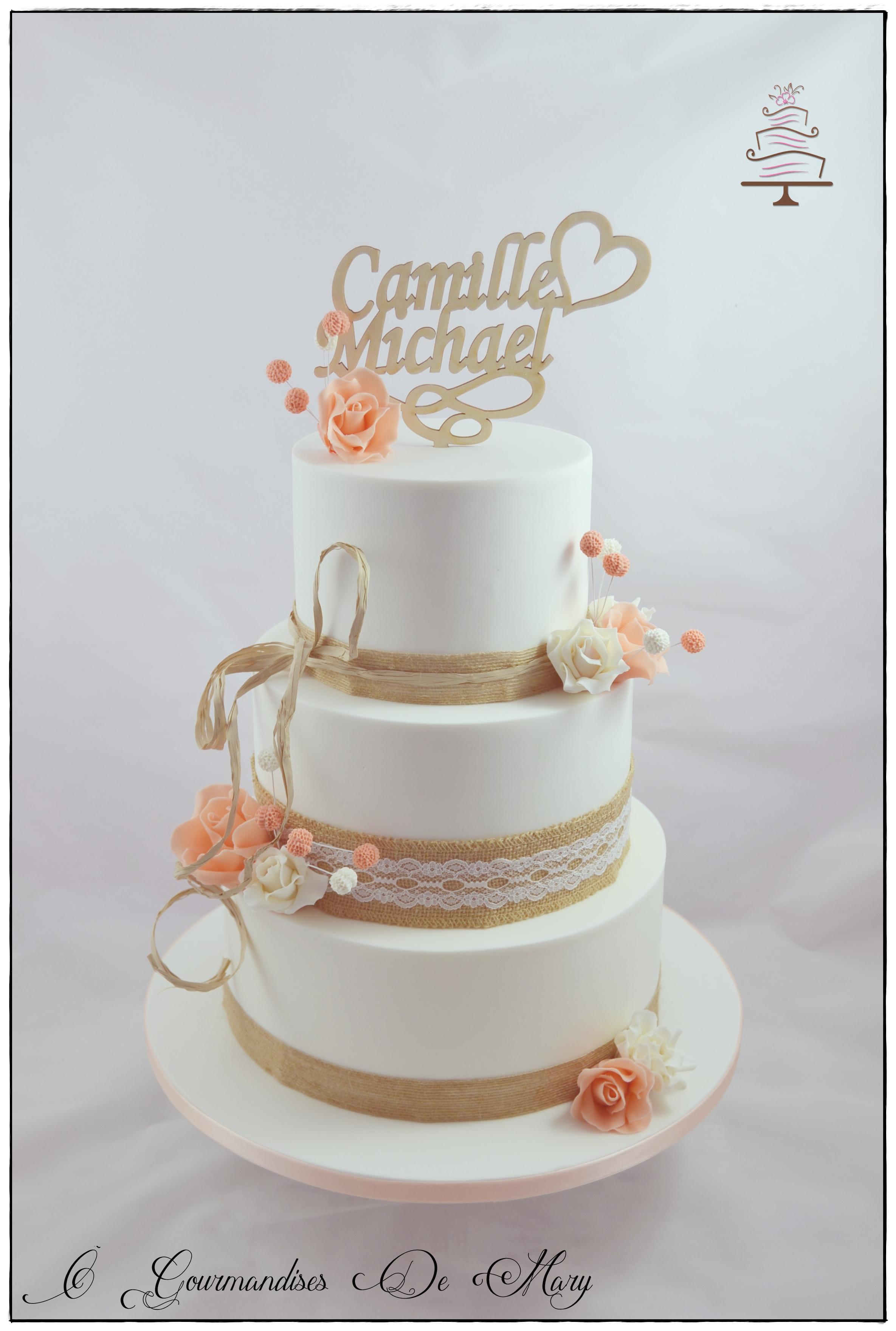 Gateaux Lyon Wedding Cake Lyon