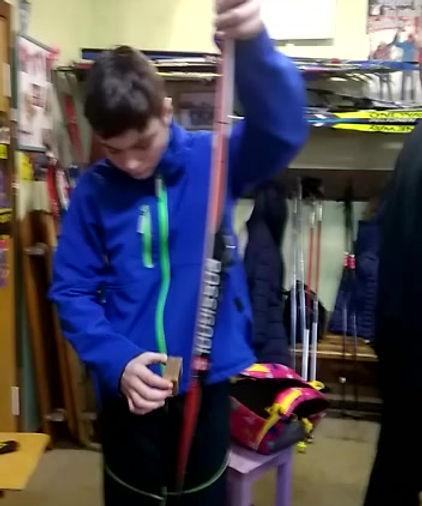 Как правильно готовить лыжи к соревнованиям
