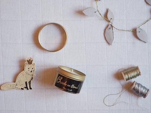 """Bougie """"Noël magique"""" Brioche au beurre"""