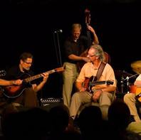 L-R:  CH, Mel Deal, Jim Ferguson (bass), Tom Wolfe, Mundell Lowe, Chuck Redd.  W.C. Handy Music Festival in Florence, AL
