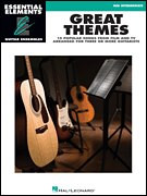 Great Themes | Essential Elements Guitar Ensemble Series (Hal Leonard)