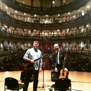 CH with Nate Najar in Cartagena, Colombia.