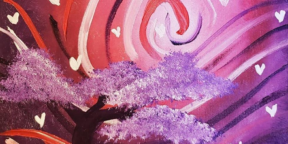 Love Tree Paint Event
