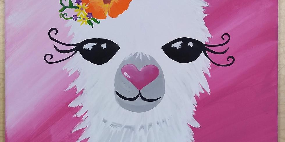 Llama Llama Paint Event